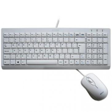 Bedrade muis + qwerty keyboard voor MSI AIO (zwart)