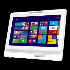 "MSI 20"" AE200 5M-203XEU 2-touch lcd pc AMD/4gb/500gb/geen OS"